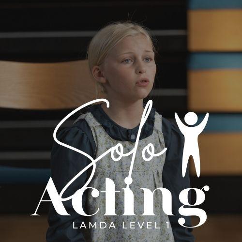 Solo Acting Grade 1